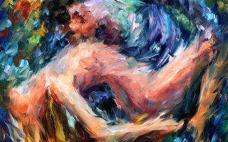 «Θάλασσα των αισθημάτων», έργο του Ρωσοϊσραηλινού σύγχρονου ιμπρεσιονιστή ζωγράφου Λεονίντ Αφρέμοφ.