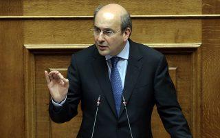 Στο θέμα της ΔΕΗ «δεν είστε κατήγοροι, είστε κατηγορούμενοι», είπε ο υπουργός Ενέργειας Κωστής Χατζηδάκης απευθυνόμενος στους βουλευτές του ΣΥΡΙΖΑ.