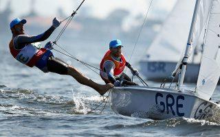 Μία θέση στους Ολυμπιακούς Αγώνες του Τόκιο θα προσπαθήσουν να κλείσουν οι Τάκης Μάντης και Παύλος Καγιαλής.