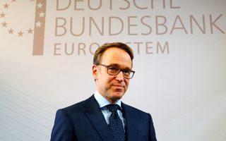 Ο κεντρικός τραπεζίτης της Γερμανίας, Γενς Βάιντμαν, έχει δηλώσει ότι τα πρόσφατα στοιχεία για την πορεία της ευρωπαϊκής οικονομίας δεν δικαιολογούν τη λήψη σημαντικών μέτρων για την ενίσχυσή της.