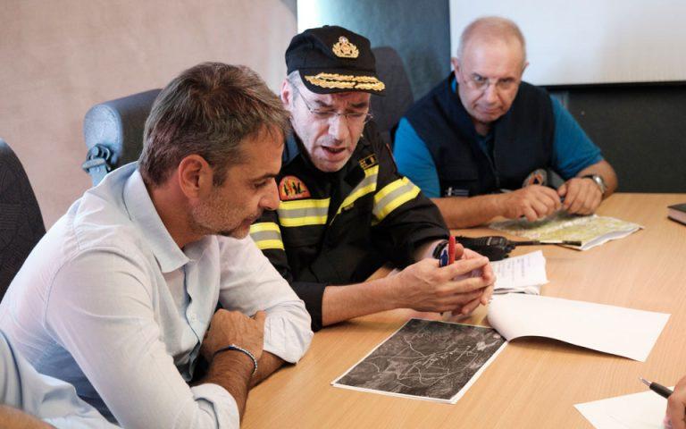 Κυρ. Μητσοτάκης από Εύβοια: Αμεσα το έργο καταγραφής των ζημιών