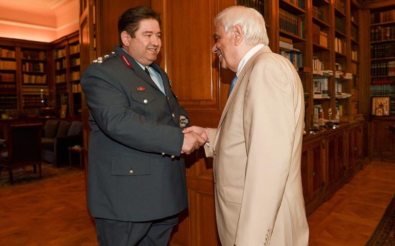 Πρ. Παυλόπουλος στη συνάντηση με αρχηγό της ΕΛ.ΑΣ.: Πολύ σημαντικό αγαθό η διασφάλιση της Δημόσιας Τάξης