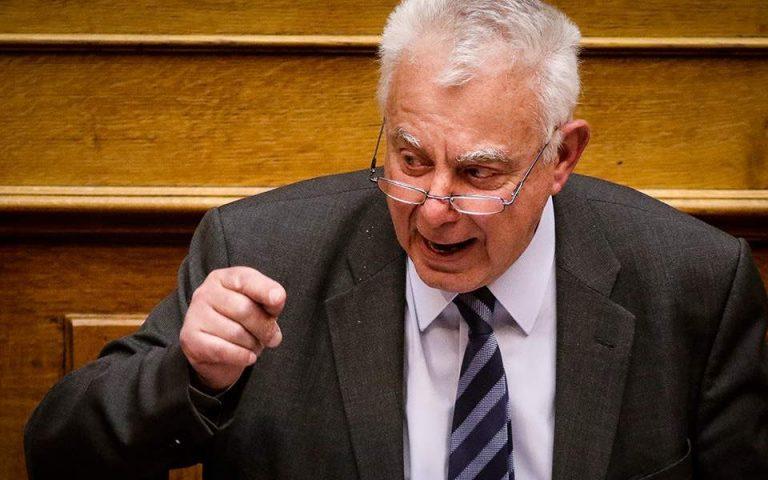 Πικραμμένος προς Τσίπρα: «Εσείς με κάνατε πολιτικό»