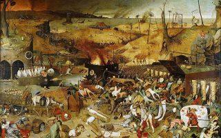 «Ο θρίαμβος του Θανάτου». Πίνακας (1562-1563) του Φλαμανδού ζωγράφου Πέτερ Μπρέγκελ του πρεσβύτερου.