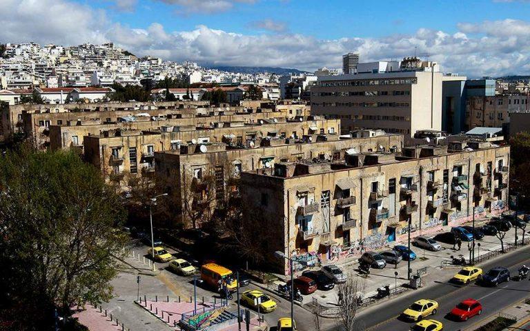 Κατεδαφίζεται επικίνδυνο κτίριο στους Αμπελοκήπους