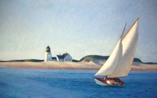 «Η χερσόνησος», έργο του Αμερικανού ζωγράφου Εντουαρντ Χόπερ.