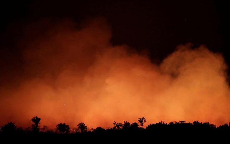 Τεράστια καταστροφή στην Αμαζονία