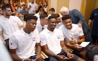 Η πίστη για την κατάκτηση ενός μεταλλίου κυριάρχησε κατά τη χθεσινή επίσημη παρουσίαση της εθνικής ομάδας ενόψει του Παγκοσμίου Κυπέλλου της Κίνας.