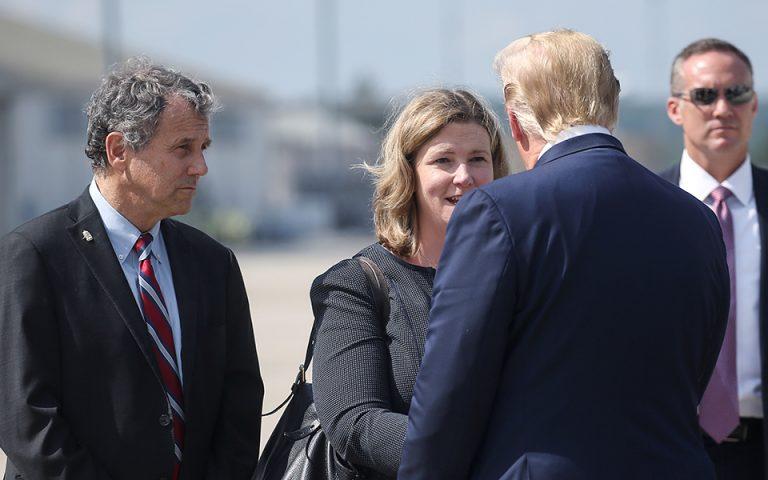 Ο Τραμπ επισκέφθηκε τραυματίες της επίθεσης στο Ντέιτον