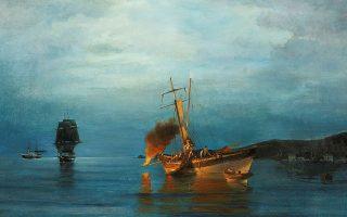 Κωνσταντίνος Βολανάκης. Ο πατέρας της ελληνικής θαλασσογραφίας. Εκθεση στο Ιστορικό Αρχείο - Μουσείο Υδρας. Εως 31 Οκτωβρίου.