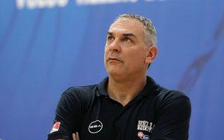 «Πρέπει να κάνουμε τέλειο παιχνίδι κόντρα στην Ισπανία», ανέφερε ο Γιώργος Βλασσόπουλος.