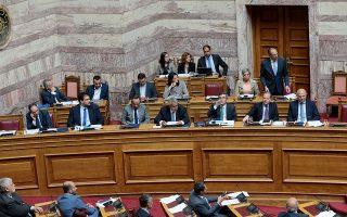 Ο υπουργός Επικρατείας Γ. Γεραπετρίτης υπογράμμισε ότι η κυβέρνηση έχει τη δυνατότητα να θέτει τους όρους, προκειμένου να λειτουργεί η ΕΥΠ υπέρ της εθνικής ασφάλειας, και δεν είναι ορθό να αφήνει στην αντιπολίτευση το ζήτημα του καθορισμού των προσόντων ή της επιλογής του προσώπου του διοικητή.
