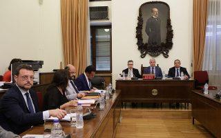 «Γυρίζω στην Ελλάδα θέλοντας να συνεισφέρω στην προώθηση του δικαίου ανταγωνισμού και συνεπώς στη βελτίωση της οικονομικής κατάστασης της χώρας», ανέφερε, μεταξύ άλλων, ο κ. Ιω. Λιανός (αριστερά).