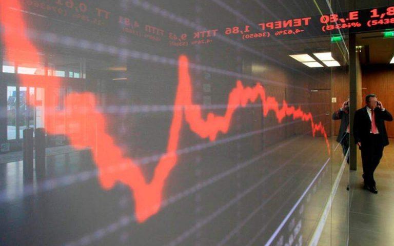Χρηματιστήριο: Στις 831,70 μονάδες ο Γ.Δ με πτώση 1,60%