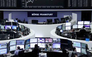 Στη Φρανκφούρτη ο DAX έκλεισε ενισχυμένος κατά μόλις 0,1%