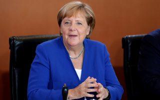 Ο Αμερικανός πρόεδρος Τραμπ έχει απειλήσει με δασμούς τόσο τη Γερμανία όσο και την Κίνα.