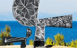 Αγνωστος βανδάλισε το γλυπτό του Γιάννη Μόραλη «Χωρίς τίτλο», που είχε τοποθετηθεί κοντά στο σπίτι του καλλιτέχνη στην Αίγινα. Το έργο είχε γίνει δωρεά από την γκαλερίστα Πέγκυ Ζουμπουλάκη στον δήμο του νησιού το 2016. Σε λίγες ημέρες θα γίνονταν τα επίσημα αποκαλυπτήριά του.