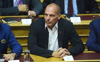 «Θα ήταν καλό για το ιστορικό αρχείο της Ευρώπης», ανέφερε ο κ. Βαρουφάκης.