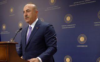«Στην Ανατολική Μεσόγειο κανένας δεν μπορεί να μας κάνει υποδείξεις ούτε μπορεί να μας εμποδίσει. Εμείς θα υποστηρίξουμε τα δικαιώματά μας, όπως και αυτά των Τουρκοκυπρίων», δήλωσε ο Τούρκος υπουργός Εξωτερικών, Μεβλούτ Τσαβούσογλου.