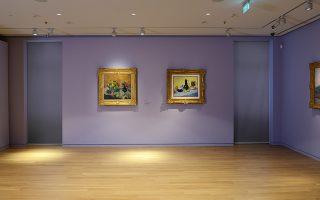 Στους τοίχους του μουσείου ζωντανεύουν οι ιστορίες και οι εκλεκτικές συγγένειες των καλλιτεχνών της ευρωπαϊκής και ελληνικής εικαστικής πρωτοπορίας του 20ού αιώνα.