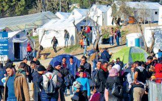 Στη Μόρια βρίσκονται 12.500 άνθρωποι, ενώ το ΚΥΤ τυπικά χωράει 3.000, στη Χίο 3.680 (χωρητικότητα 1.014), στη Σάμο 5.267 (648), στη Λέρο 1.454 (860) και στην Κω 3.093 (816).