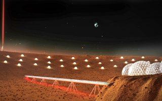 Η αποικία Star City στον Άρη.
