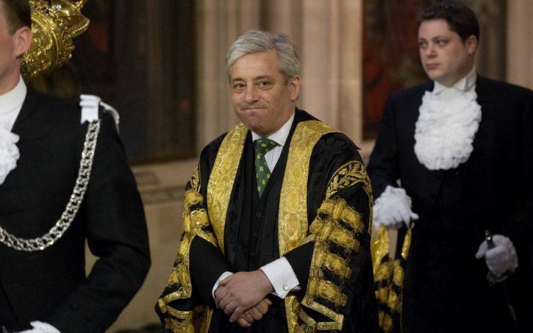 Τζον Μπέρκοου: Από πρόεδρος της βρετανικής βουλής παγκόσμιος σταρ της πολιτικής (βίντεο)