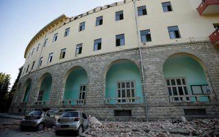 Ο σεισμός 5,6 Ρίχτερ που έπληξε προ ημερών τα Τίρανα είχε ως αποτέλεσμα να υποστούν ζημιές πάνω από 600 κτίρια και να τραυματιστούν 105 άτομα.