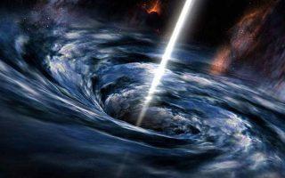 Απεικόνιση της γιγάντιας μαύρης τρύπας, που βρίσκεται σε απόσταση 26.000 ετών φωτός από τη Γη.