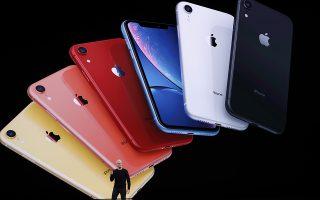 Ο CEO της εταιρίας Tim Cook παρουσιάζει τα νέα iPhone 11