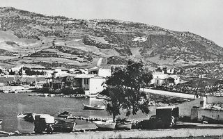 Το λιμάνι του Πόρτο Ράφτη, σε φωτογραφία του 1950.