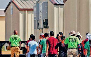 Κέντρο φιλοξενίας ανήλικων μεταναστών στο Καρίζο Σπρινγκς, στην πολιτεία του Τέξας.