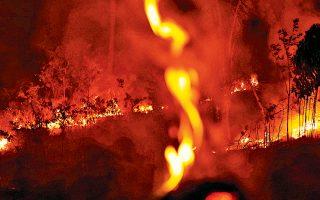Παρά τις καταστροφικές πυρκαγιές στο τροπικό δάσος του Αμαζονίου, ο πρόεδρος της Βραζιλίας κατηγορεί τα ΜΜΕ για «εντυπωσιασμό».
