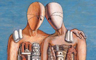 O αινιγματικός και γεμάτος συμβολισμούς κόσμος του Ντε Κίρικο σε μια μεγάλη έκθεση με έργα από πολλές συλλογές.