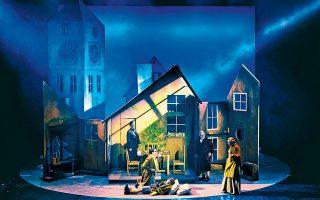 Η «Χριστουγεννιάτικη ιστορία» του Τσαρλς Ντίκενς ανεβαίνει ξανά σε σκηνοθεσία Γιάννη Μόσχου.