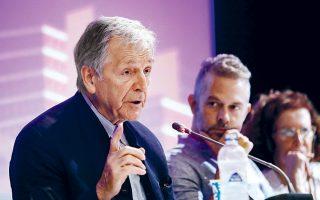 Στη χθεσινή συνέντευξη Τύπου στο Γαλλικό Ινστιτούτο, βρέθηκαν μεταξύ άλλων ο Κ. Γαβράς, ο Χρ. Λούλης, ο Αλ. Μπουρδούμης και ο Γ. Βαρουφάκης.