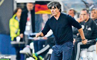 Η εντός έδρας ήττα από την Ολλανδία με 2-4 έφερε σε εξαιρετικά δύσκολη θέση τον προπονητή των Γερμανών, Γιόαχιμ Λεβ.