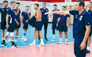 Το αντιπροσωπευτικό συγκρότημα αντιμετωπίζει σήμερα το μεσημέρι τη Βουλγαρία σε αναμέτρηση για τον πρώτο όμιλο της διοργάνωσης.