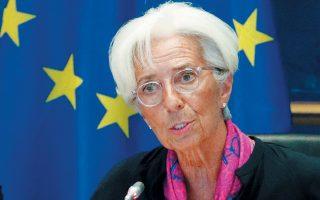 Η Κριστίν Λαγκάρντ, που πρόκειται να αναλάβει καθήκοντα προέδρου της ΕΚΤ, ανέφερε στην Επιτροπή Οικονομικών και Νομισματικών Υποθέσεων του Ευρωπαϊκού Κοινοβουλίου ότι ο στόχος του 3,5% ασκεί υπερβολική πίεση στην ανάκαμψη της ελληνικής οικονομίας.