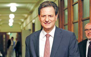 Ο υφυπουργός Οικονομικών Θόδωρος Σκυλακάκης δήλωσε αισιόδοξος ότι «ο στόχος για πρωτογενές πλεόνασμα 3,5% του ΑΕΠ, ο οποίος αποτελεί δέσμευσή μας, θα επιτευχθεί».