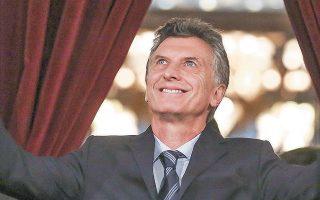 Εκπρόσωποι των επενδυτών θεωρούν ότι ο Μαουρίσιο Μάκρι θα ηττηθεί στις προεδρικές εκλογές του Οκτωβρίου.