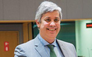 Ο πρόεδρος του Eurogroup Μάριο Σεντένο δήλωσε πρόσφατα ότι δεν έχει εξεταστεί η λήψη συντονισμένων μέτρων ενίσχυσης της οικονομίας.