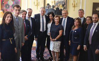 Ο υπουργός Εσωτερικών συναντήθηκε την Κυριακή με εκπροσώπους ομογενειακών οργανώσεων, στη Νέα Υόρκη.