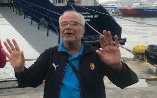 «Στο τμήμα υπήρχε κλίμα ευφορίας. Οι αξιωματικοί προφανώς θεωρούσαν πως είχαν μόλις πιστωθεί μια μεγάλη επιτυχία», λέει στην «Κ» ο Μοχάμαντ Αλι Σαλέχ (φωτ. από το λιμάνι του Πειραιά).