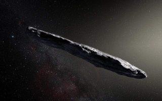 Ο «Οουμουαμούα» ήταν ο πρώτος κομήτης προερχόμενος έξω από το ηλιακό μας σύστημα και έγινε αντιληπτός το 2017