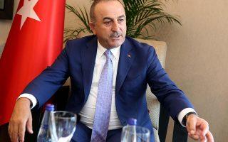 Μεβλούτ Τσαβούσογλου: Θεωρούμε ότι με τη νέα ελληνική κυβέρνηση θα δημιουργηθούν οι κατάλληλες συνθήκες για τη διευθέτηση των προβλημάτων. ΦΙΛΙΠΠΟΣ ΧΡΗΣΤΟΥ