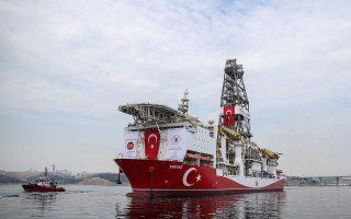 Το τουρκικό γεωτρύπανο «Γιαβούζ».