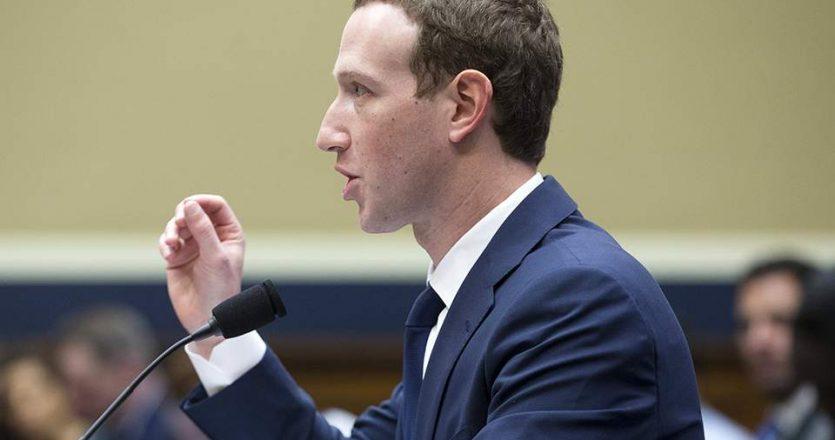 Ο Μαρκ Ζούκερμπεργκ, ιδρυτής και επικεφαλής του Facebook.