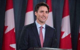 Ο Καναδός πρωθυπουργός Τζάστιν Τριντό.