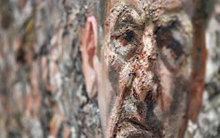 Υφή. Λεπτομέρεια από το έργο «Self Portrait Reflection (2002)» του Lucien Freud. Η Βασιλική Ακαδημία Τεχνών του Λονδίνου εγκαινιάζει έκθεση με αυτοπροσωπογραφίες του διάσημου καλλιτέχνη στην πτέρυγα Sackler  που θα διαρκέσει μέχρι τις 26 Ιανουαρίου του 2020.  EPA/NEIL HALL